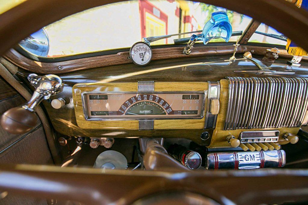 1940 chevrolet special deluxe gauges cluster