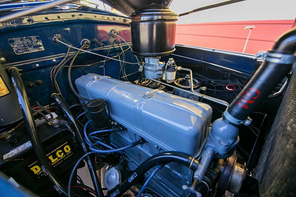 1940 chevrolet special deluxe original 216 motor