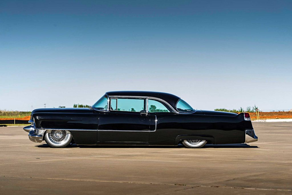 1955 big body cadillac driver side profile