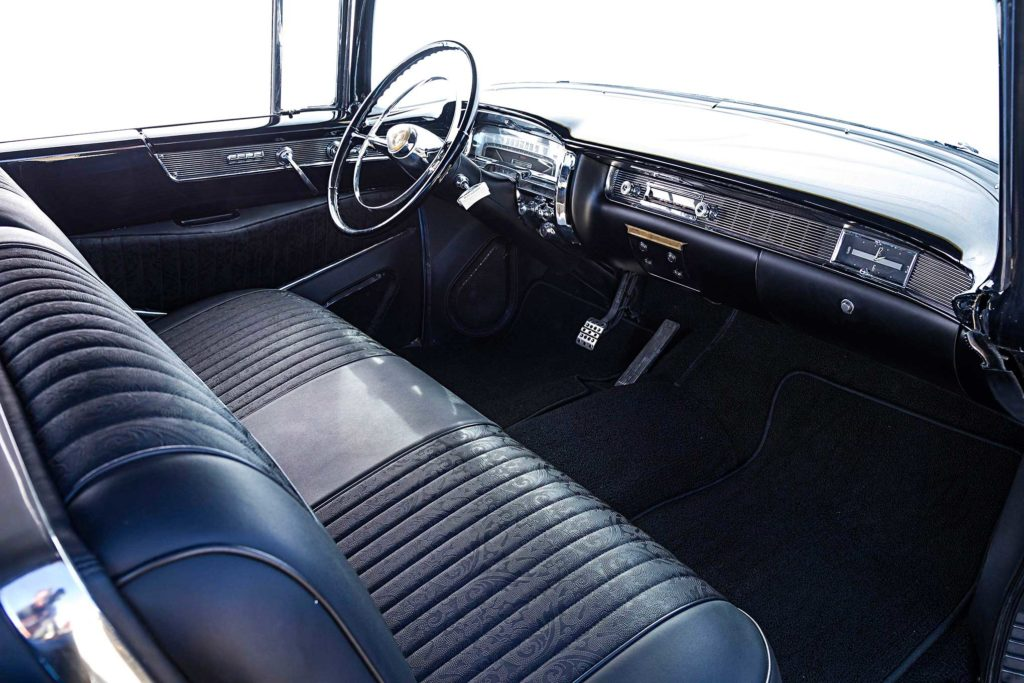 1955 big body cadillac interior