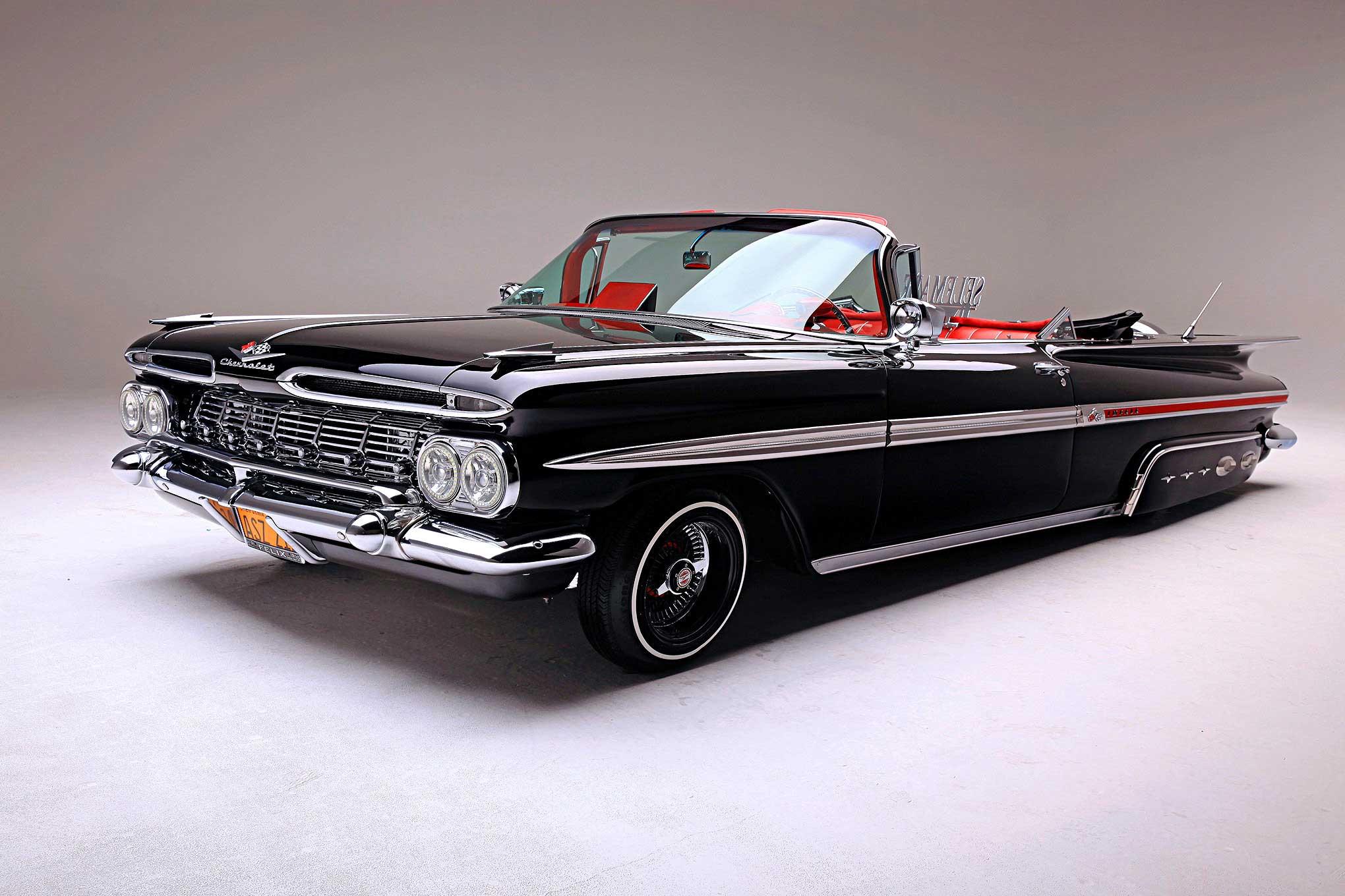 1959 chevrolet impala convertible the mothership. Black Bedroom Furniture Sets. Home Design Ideas