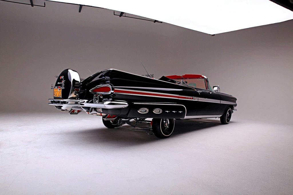 1959 chevrolet impala convertible locked up rear