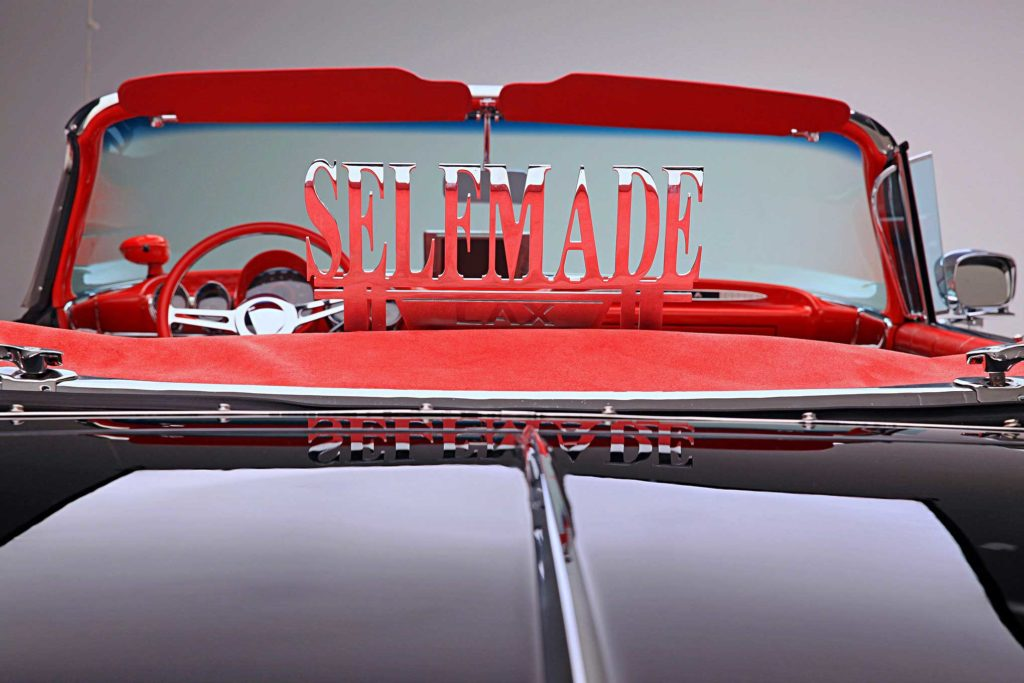 1959 chevrolet impala convertible selfmade lax cc plaque