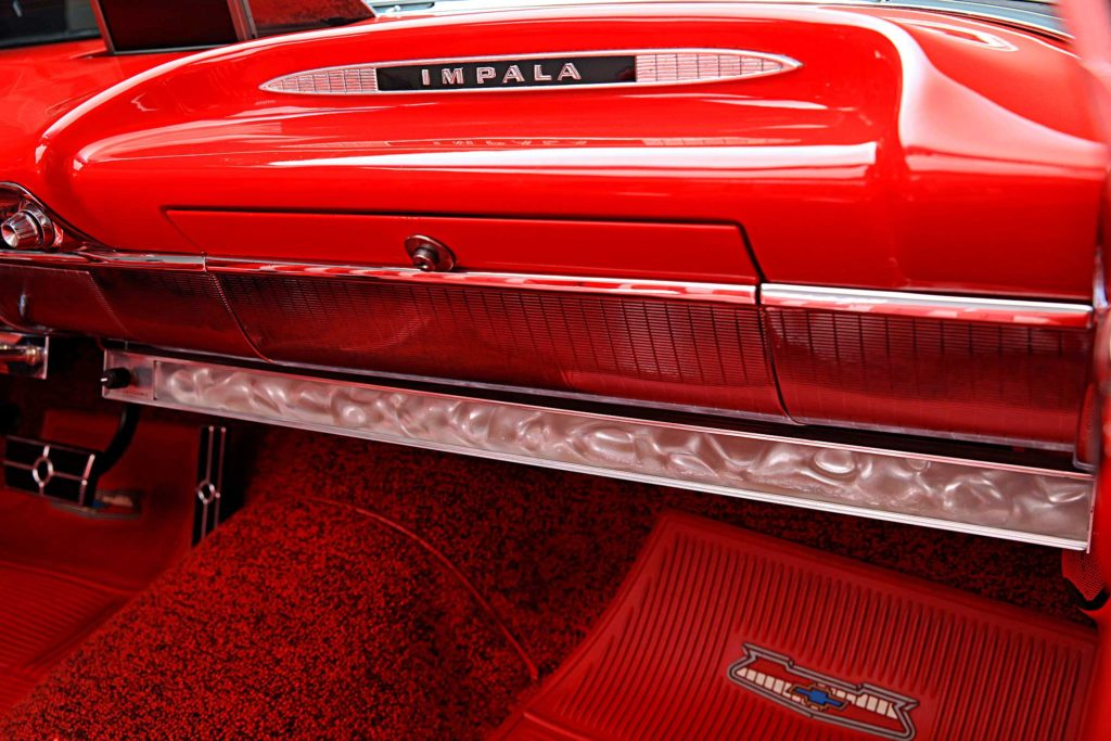 1959 chevrolet impala convertible stretched color bar