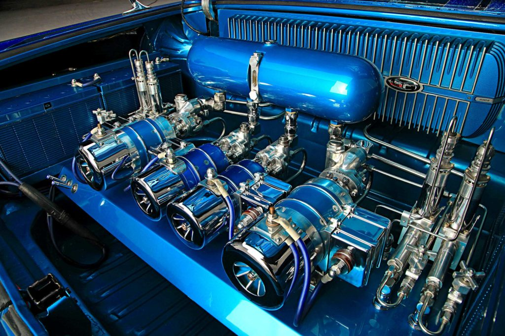 1963 chevrolet impala fanrooster pumps