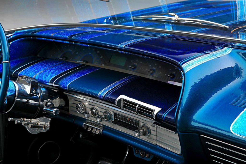 1963 chevrolet impala gauge cluster
