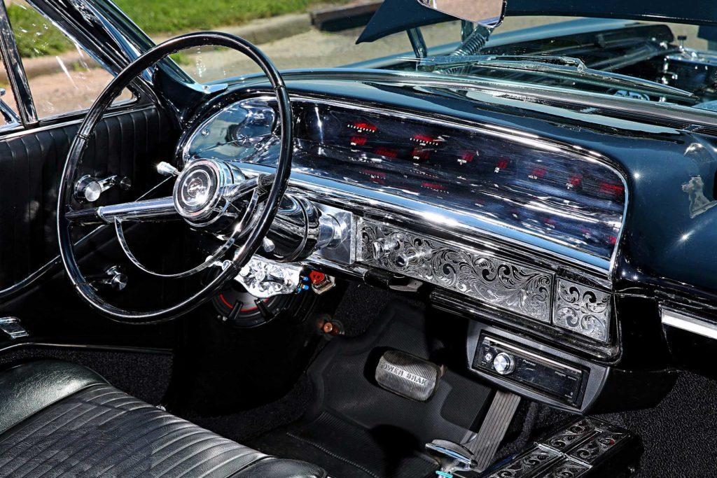 1964 chevrolet impala super sport convertible chrome dash board