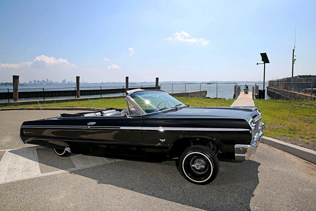 1964 chevrolet impala super sport convertible passenger side view