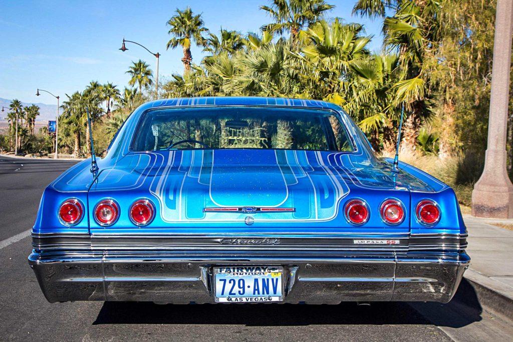 1965 chevrolet impala rear bumper