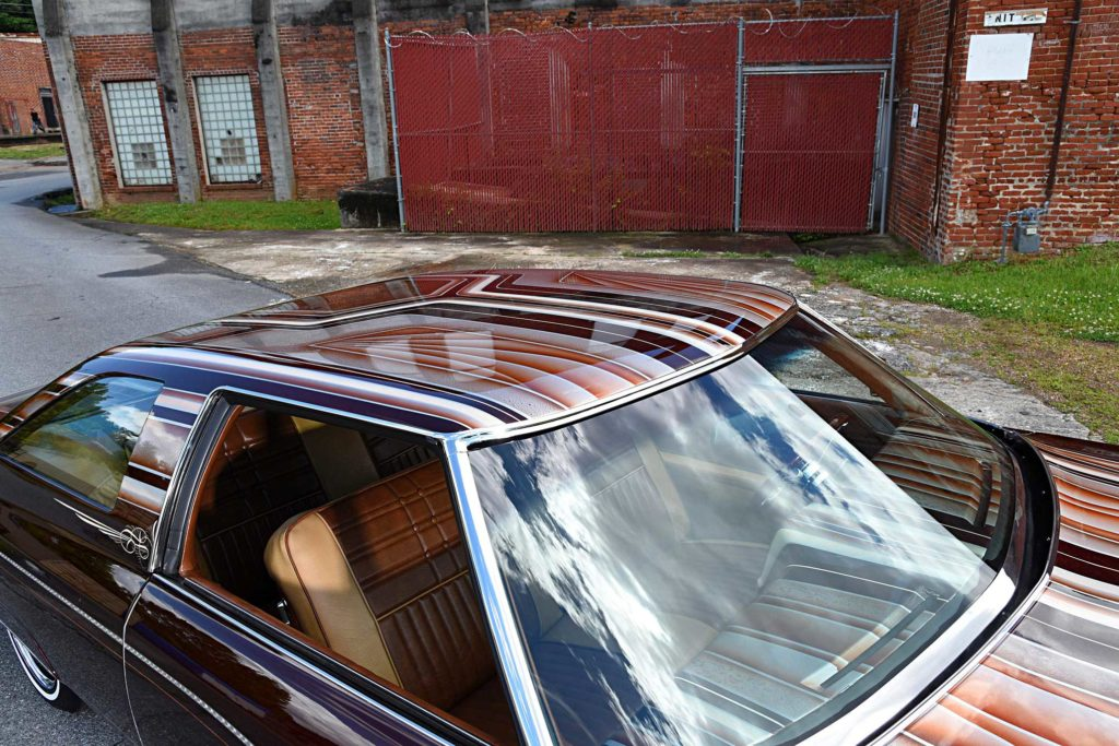 1975 chevrolet impala glasshouse roof patterns