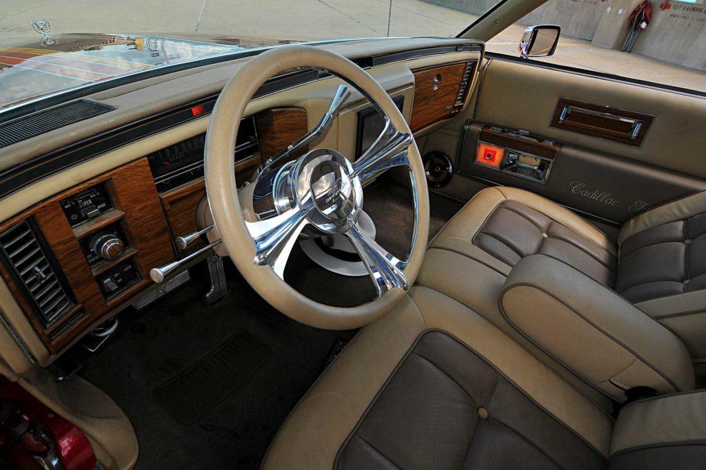 1985 cadillac fleetwood brougham steering wheel