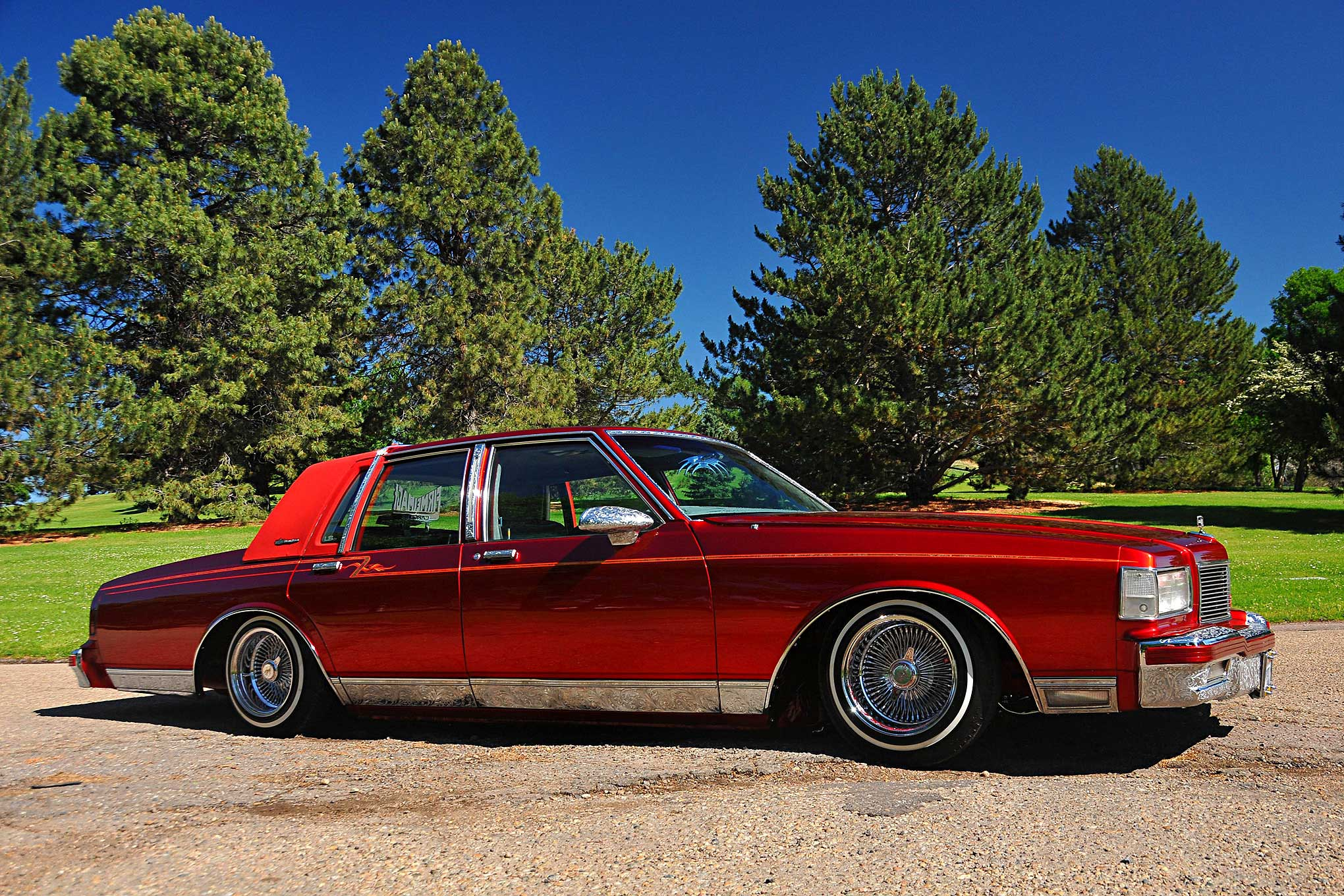 Chevrolet Caprice Classic Masterpiece Wire Wheels