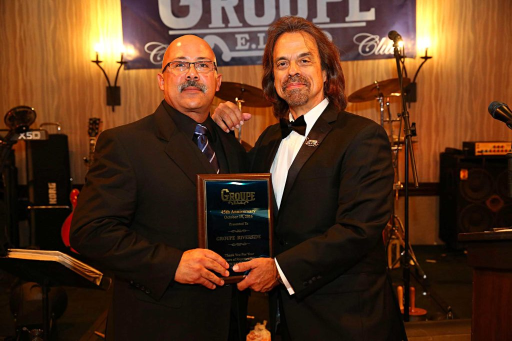 groupe car club 45th anniversary riverside award