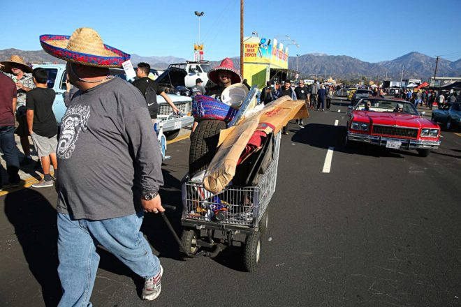pomona swap meet shoppers