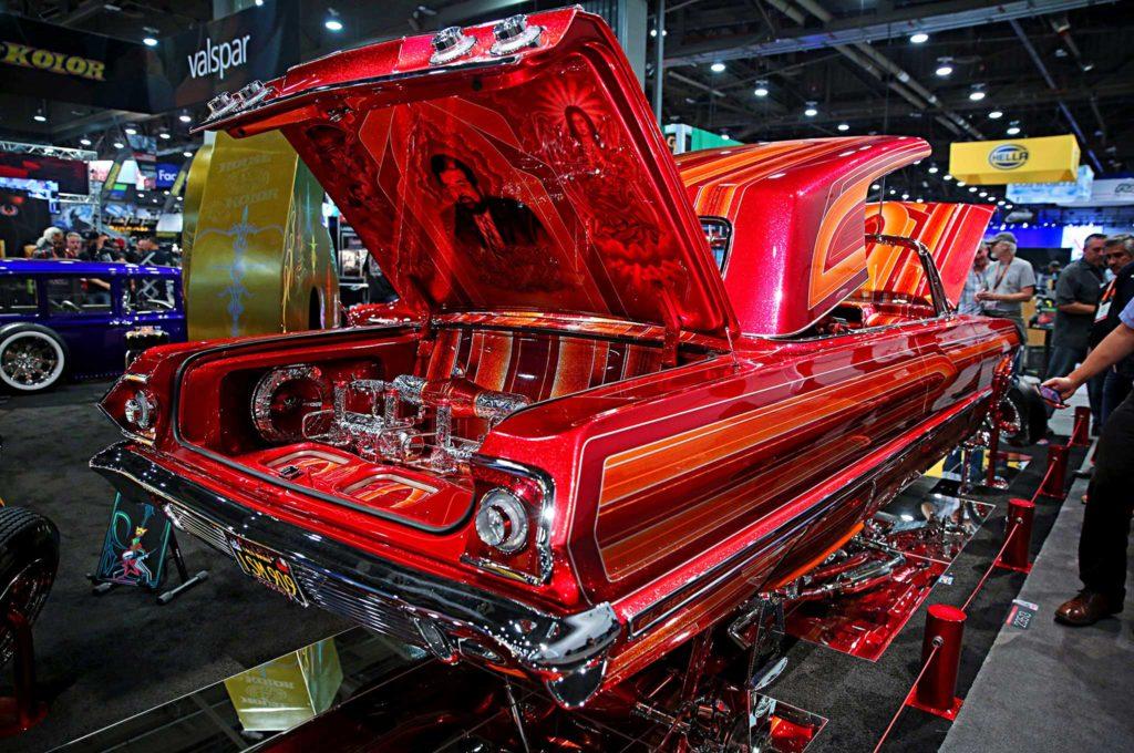 sema 2016 1963 chevy impala el rey