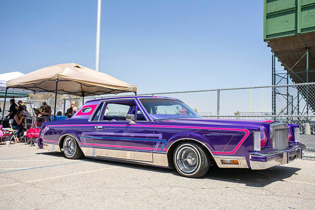 stylistics palmdale car show purple baby lincoln