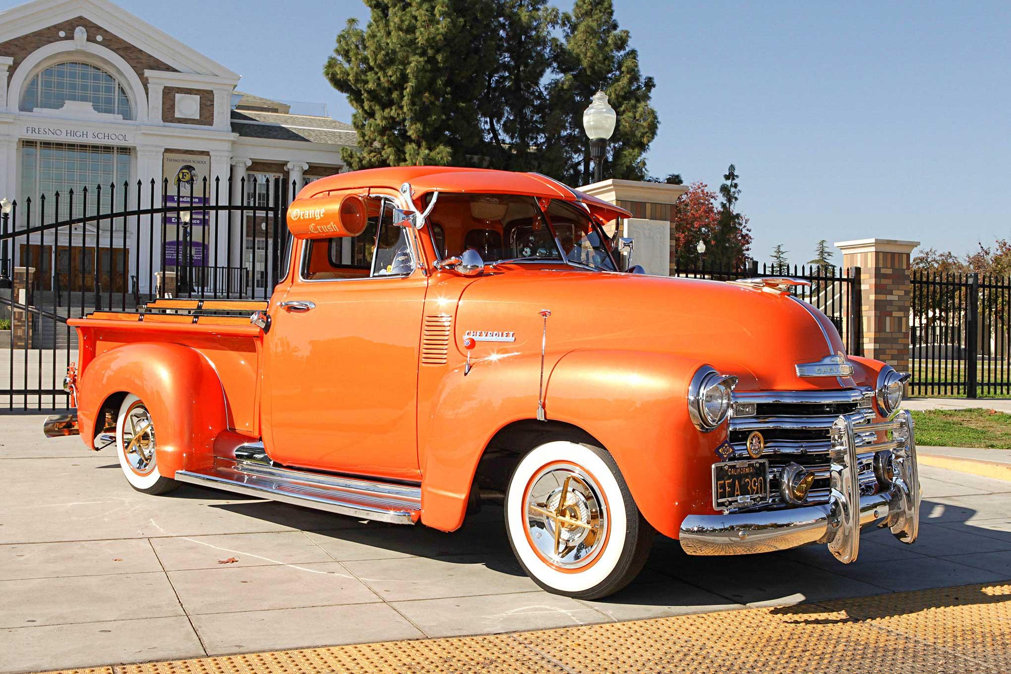 Building Orange Crush A 1953 Chevy 3100