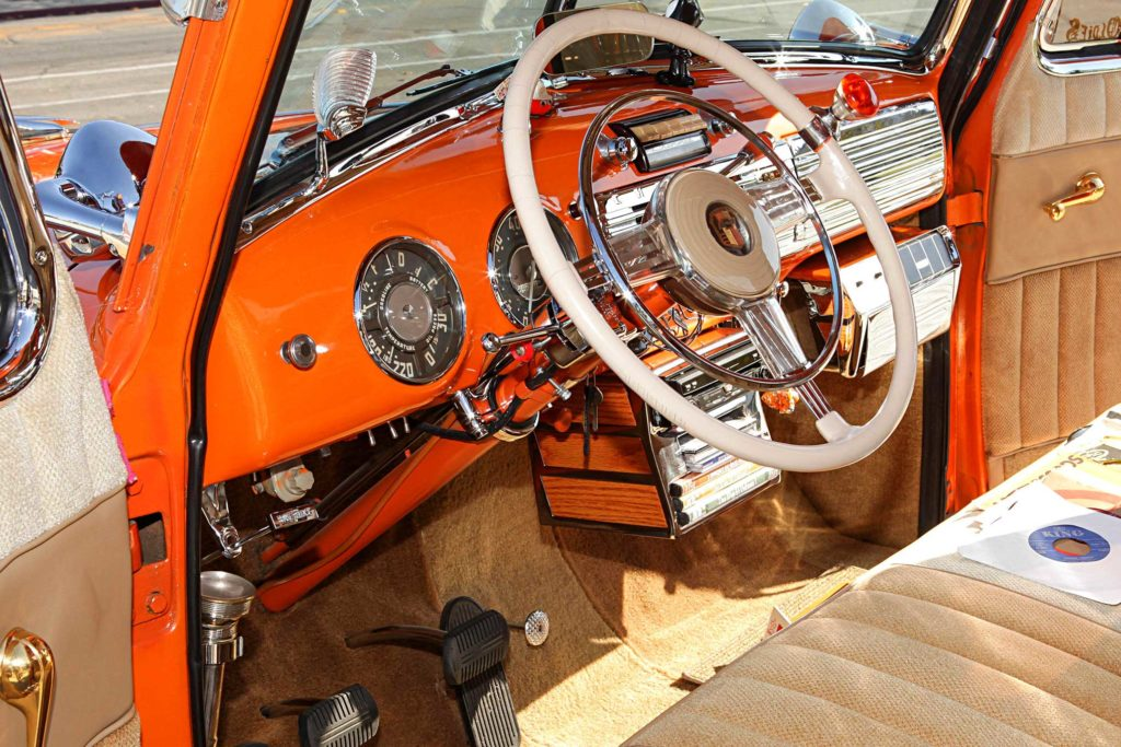 1953 chevrolet 3100 steering wheel gauges