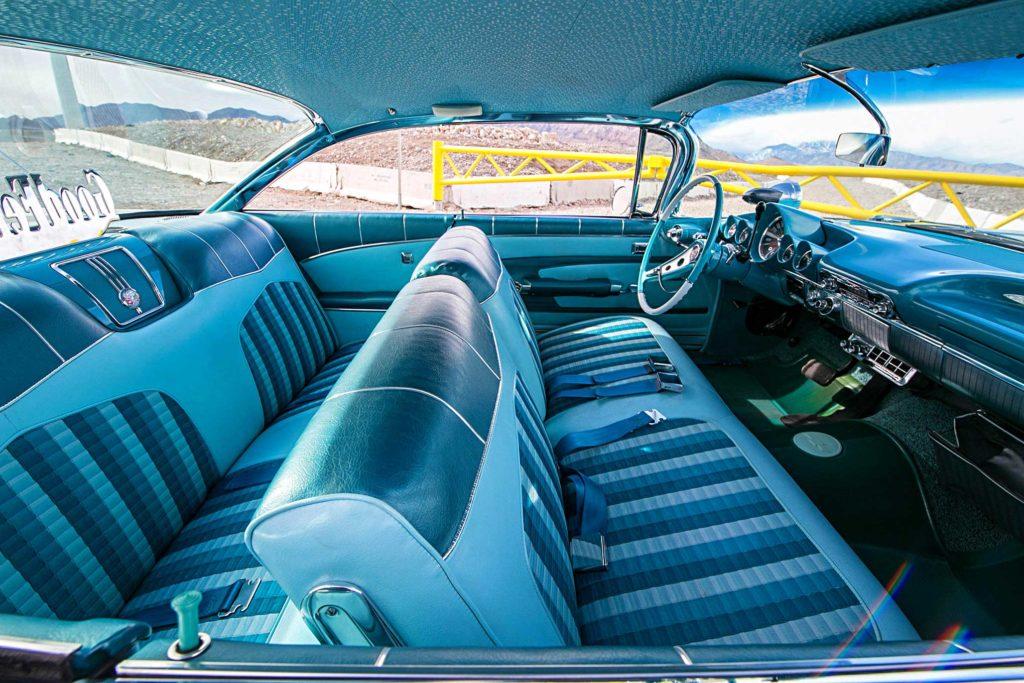 1959 chevrolet impala seats