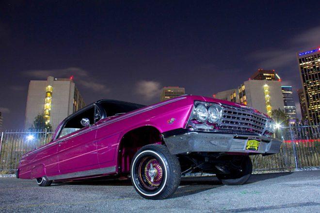 1962 chevrolet impala front locked up