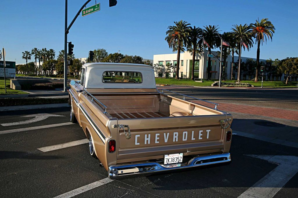 1963 chevrolet c10 rear bumper