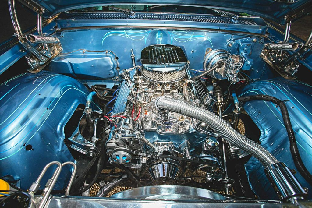 1963 chevrolet impala 350 engine