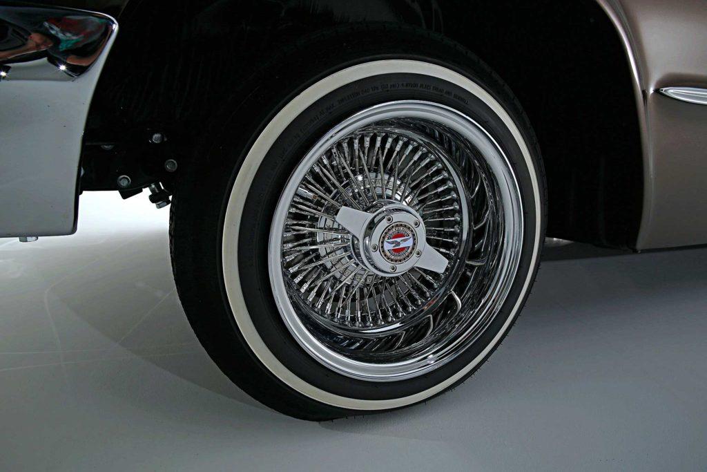 1963 chevrolet impala chrome zenith wire wheel
