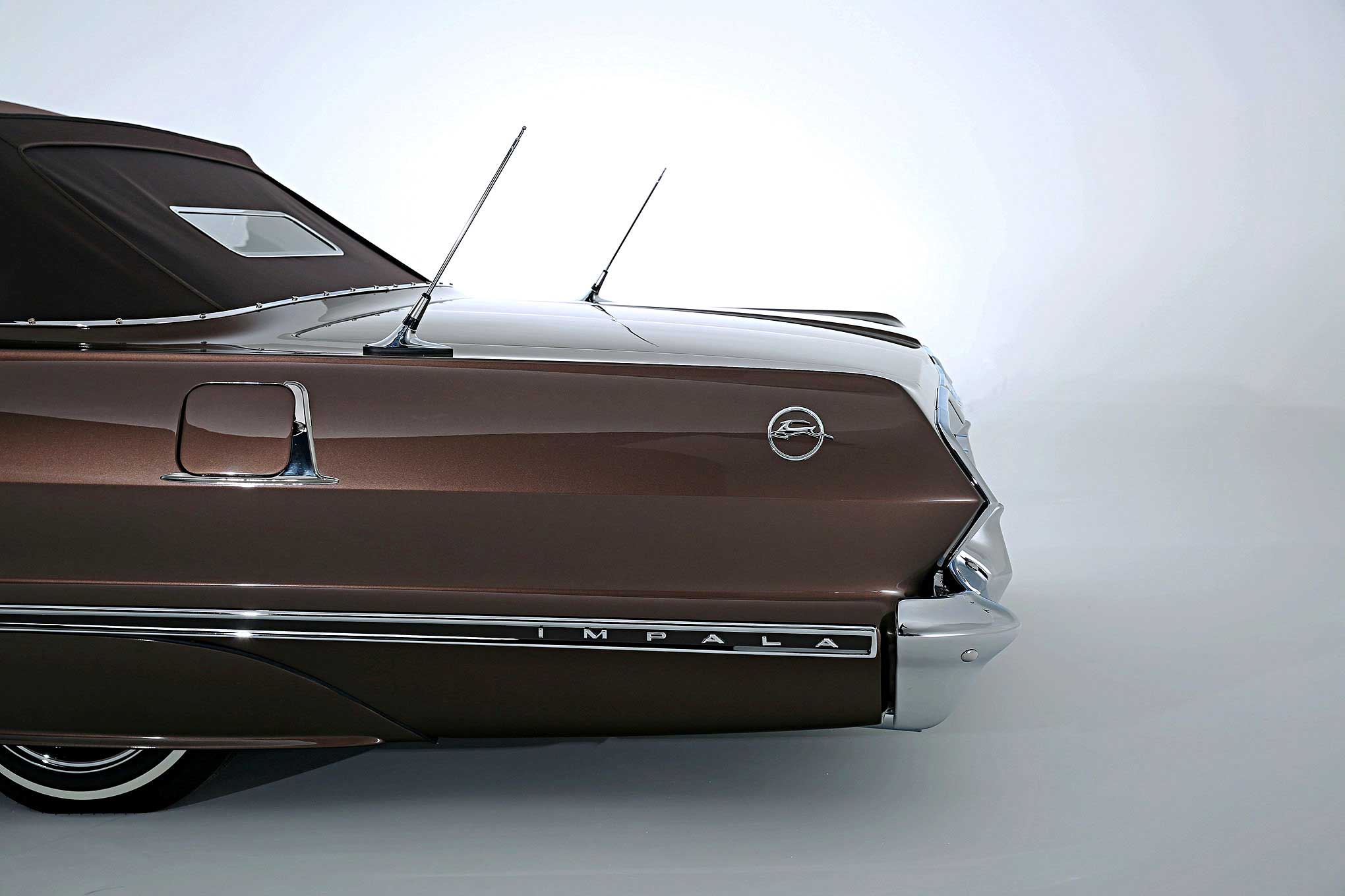 1963 Chevrolet Impala Convertible Taking Flight