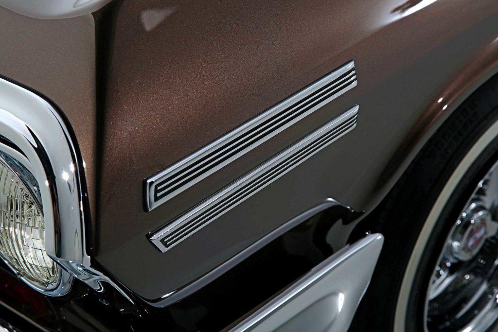 1963 chevrolet impala fender louver set