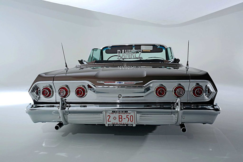 1963 chevrolet impala rear bumper 1