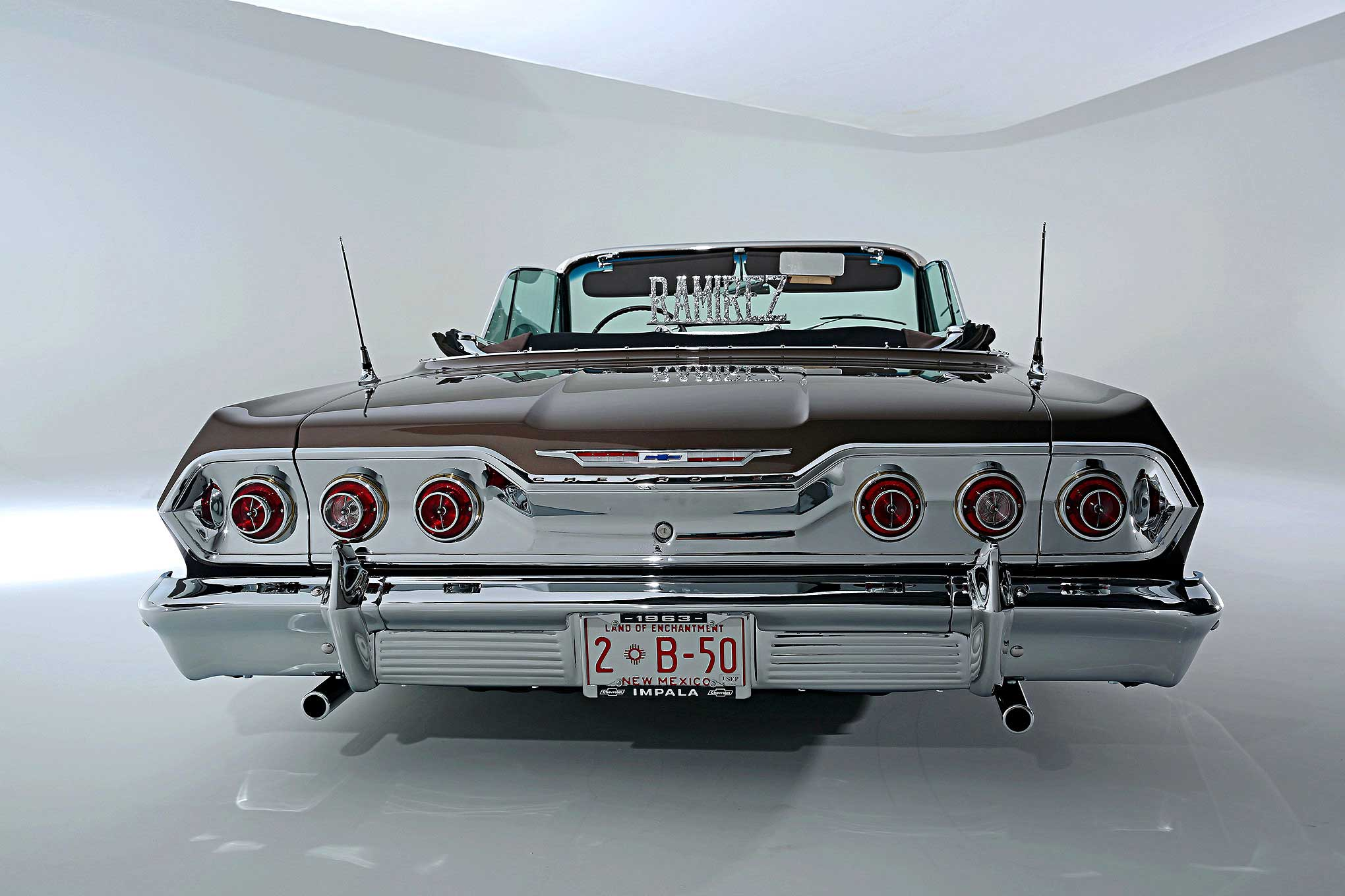 1963 chevrolet impala convertible taking flight. Black Bedroom Furniture Sets. Home Design Ideas