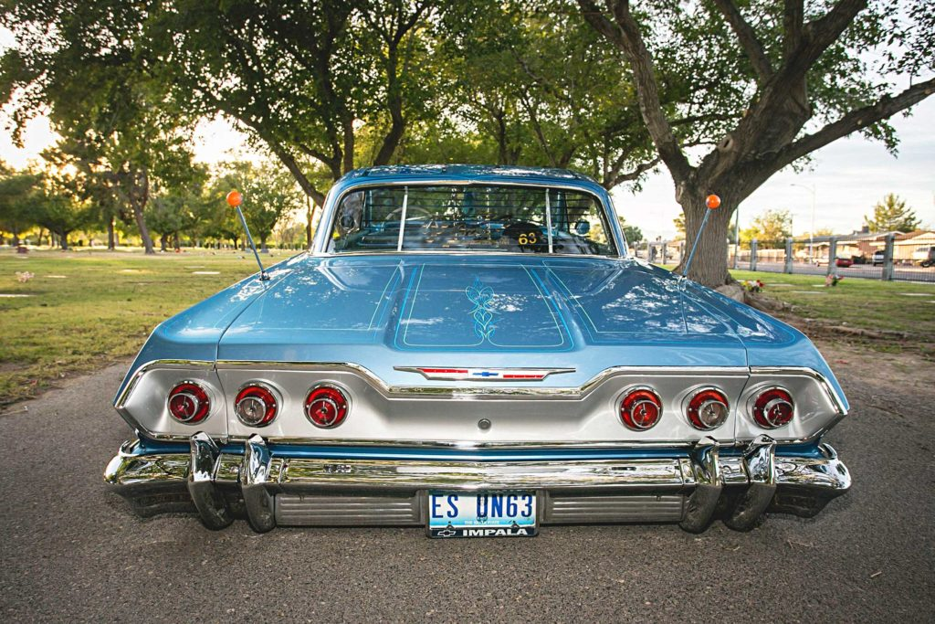 1963 chevrolet impala rear bumper