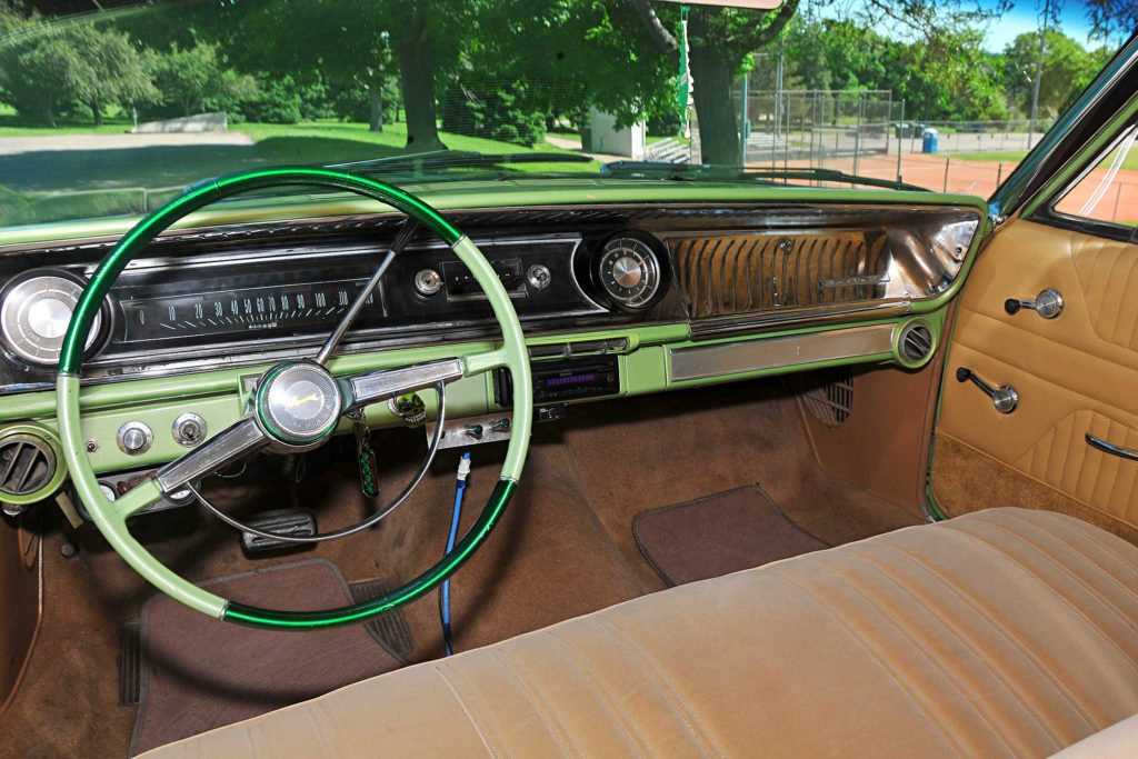1965 chevrolet impala wagon interior