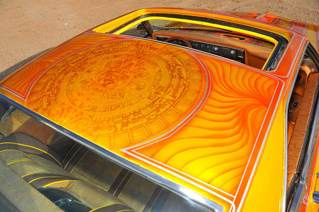 1967 buick riviera roof mural