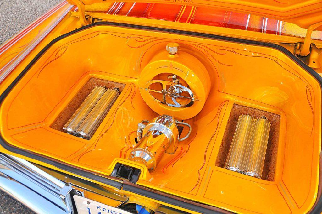 1967 buick riviera trunk setup