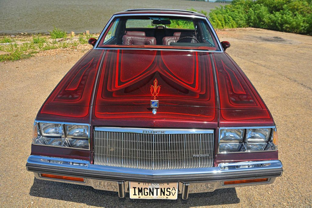 1985 buick regal patterned hood