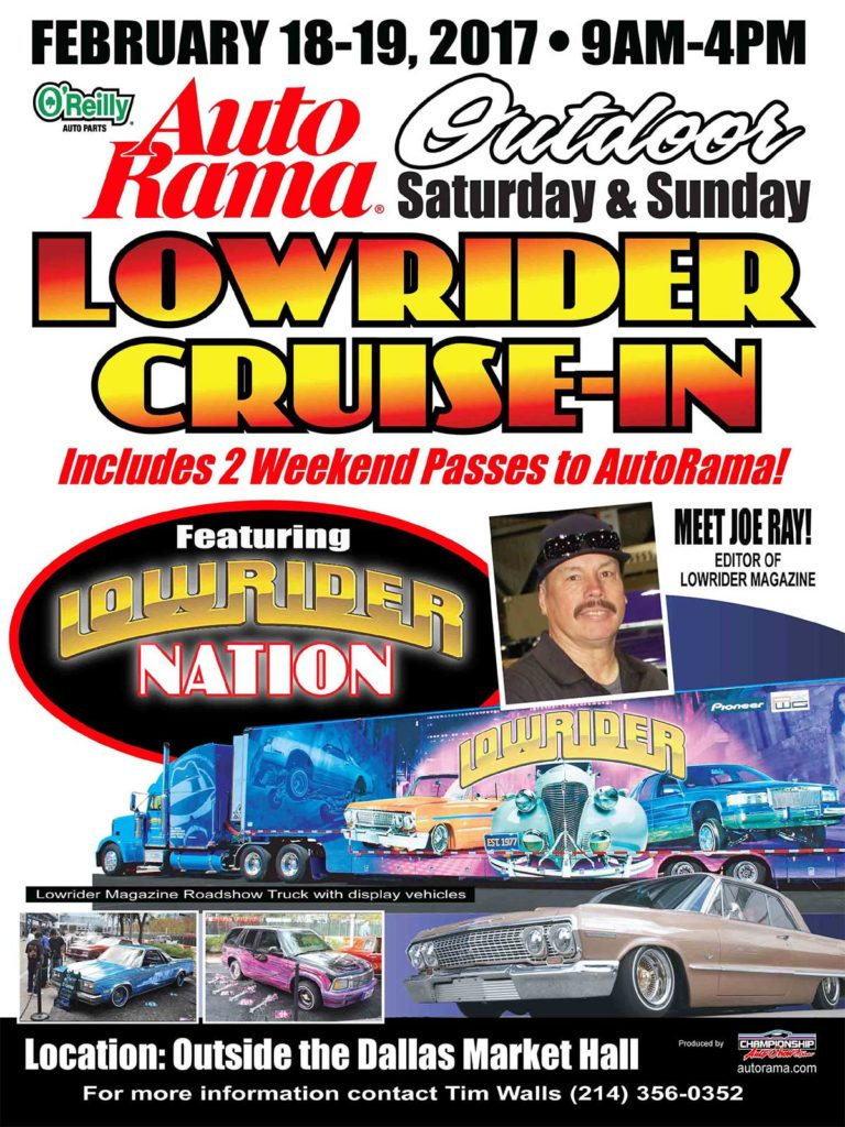 2017 dallas autorama lowrider cruise