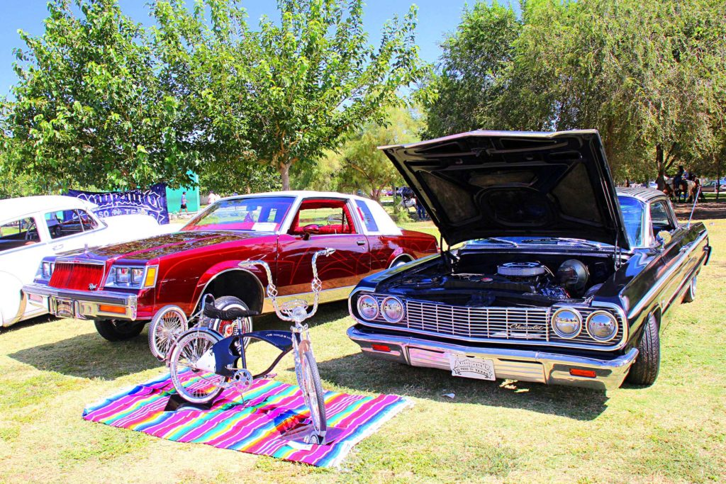 amigos car clubs 26th anniversary picnic regal impala bicycle