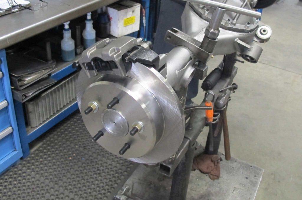curries legendary rearends brake caliper mounting