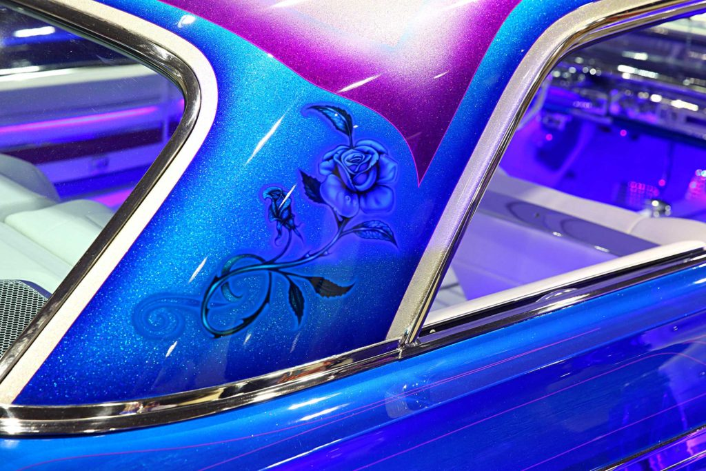 custom paintjobs of the 2017 grand national roadster show impala rose airbrushing