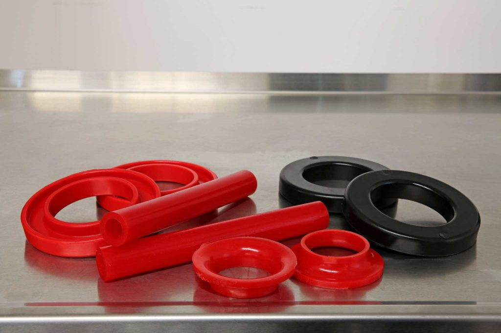 energy suspension coil spring isolator and pad set