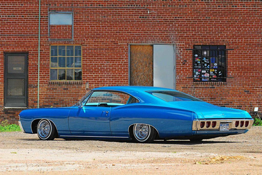 1968 chevrolet impala driver side view