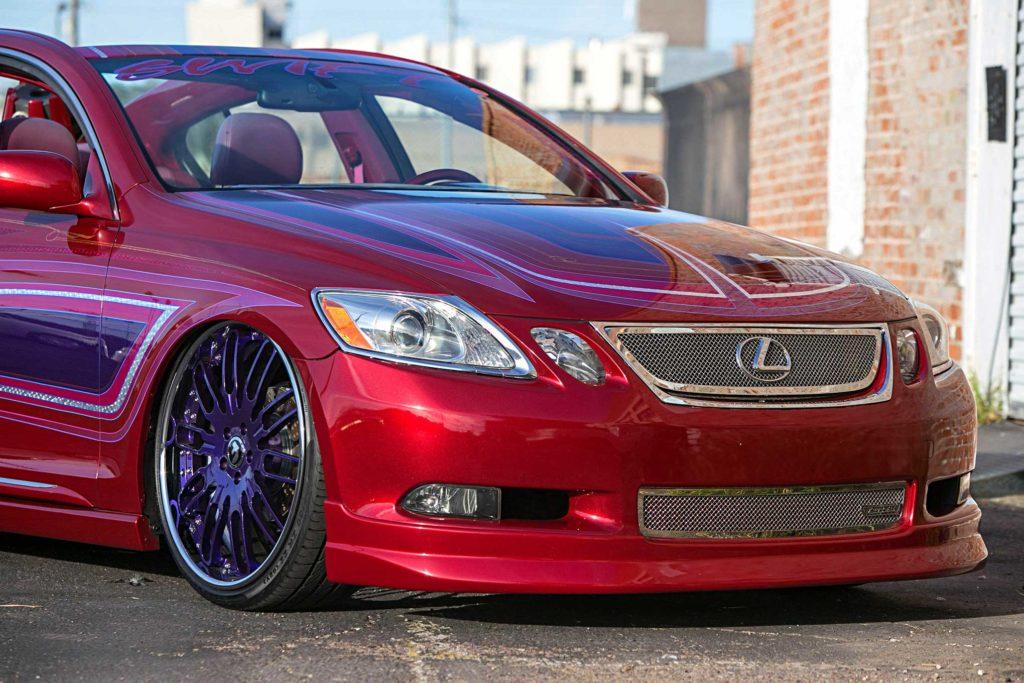 2006 lexus gs300 front fascia