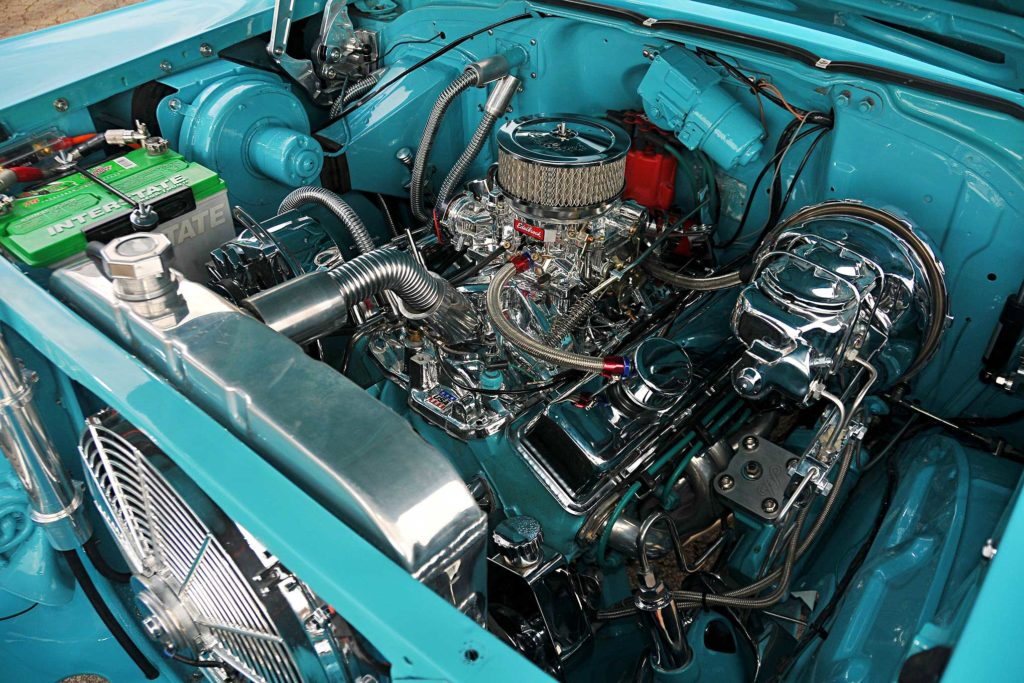 1957 chevrolet bel air 283 small block motor