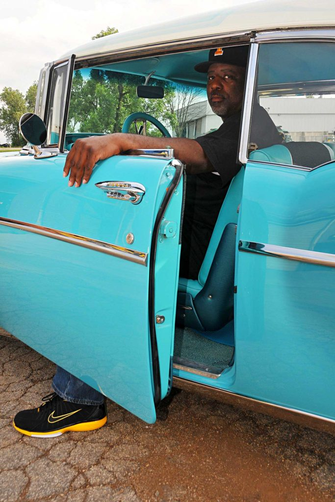 1957 chevrolet bel air demond warfield