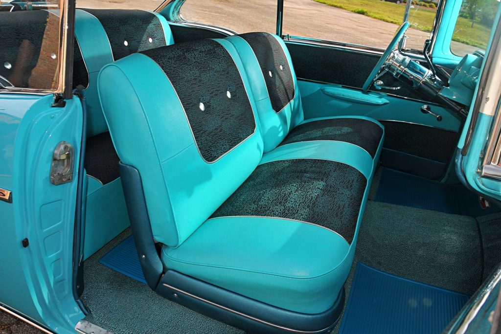 1957 chevrolet bel air front seats