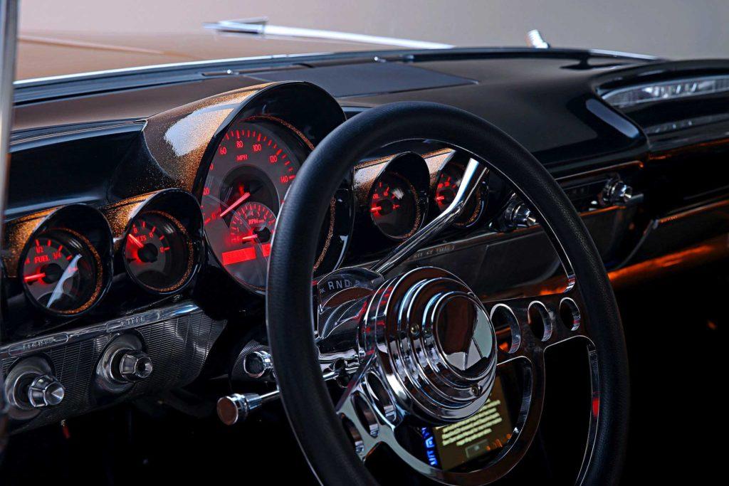 1959 chevrolet impala cpp steering wheel