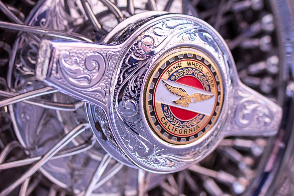 1967 chevrolet caprice engraved wheel center cap