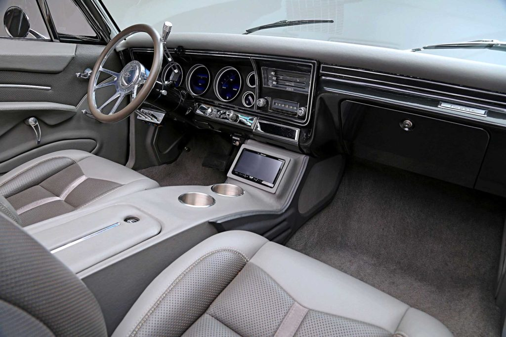 1967 chevrolet impala convertible interior
