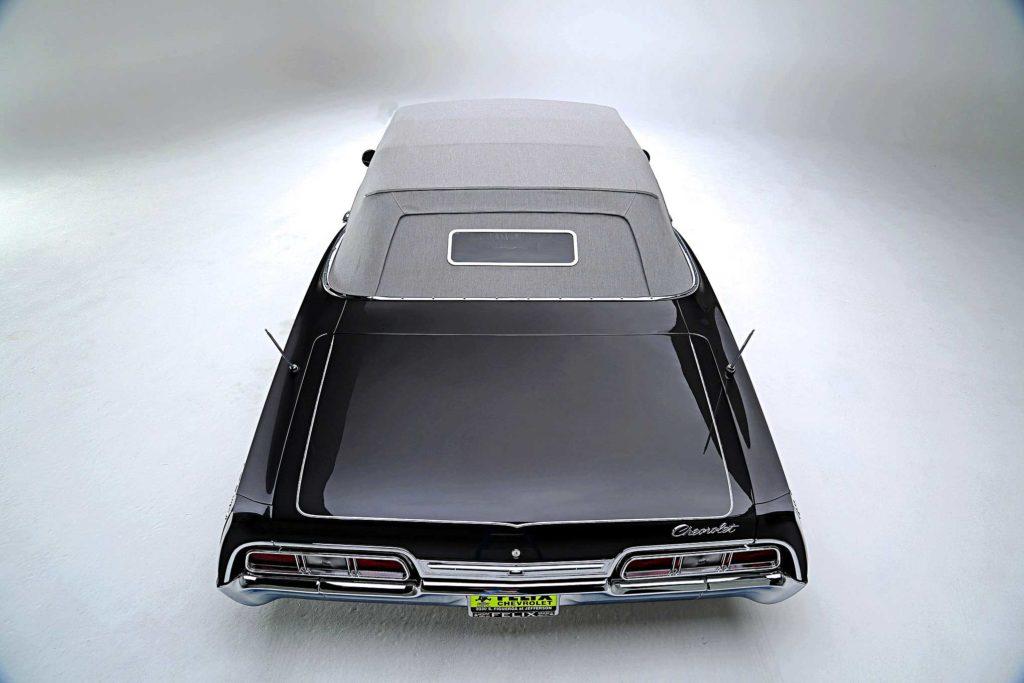 1967 chevrolet impala convertible trunk lid